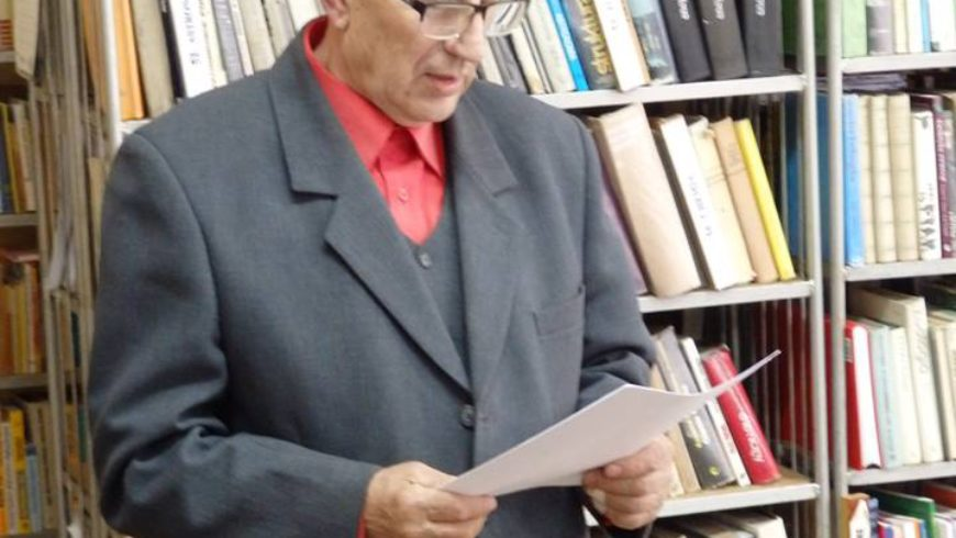 Michał Laszuk odwiedził Bibliotekę w Sokółce