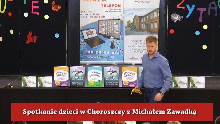 Michał Zawadka odwiedził M-GCKiS w Choroszczy