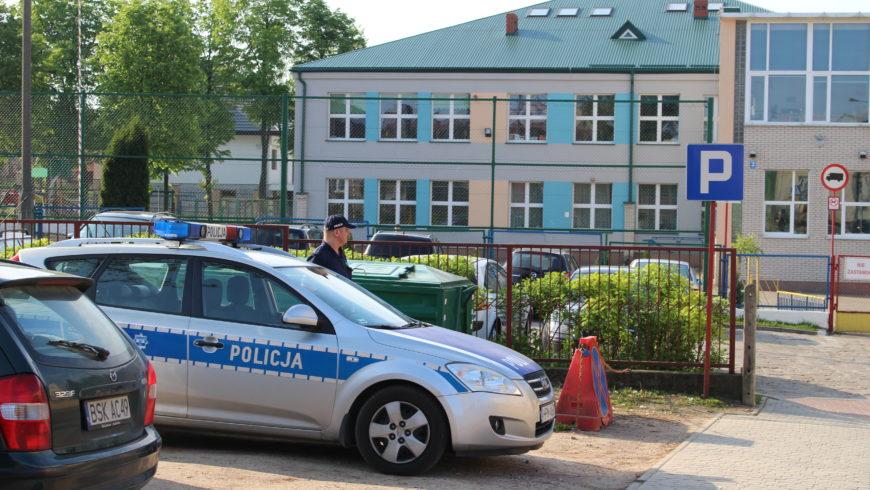 Wizytacje dzielnicowych w szkołach w Sokółce