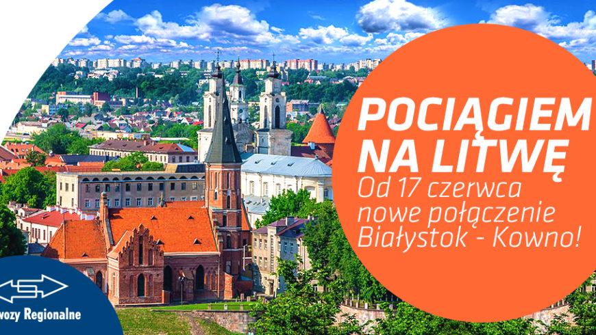 Pociągiem na Litwę