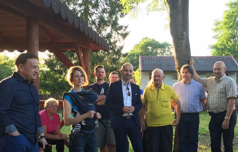 Kolejne spotkanie burmistrza Choroszczy z mieszkańcami gminy