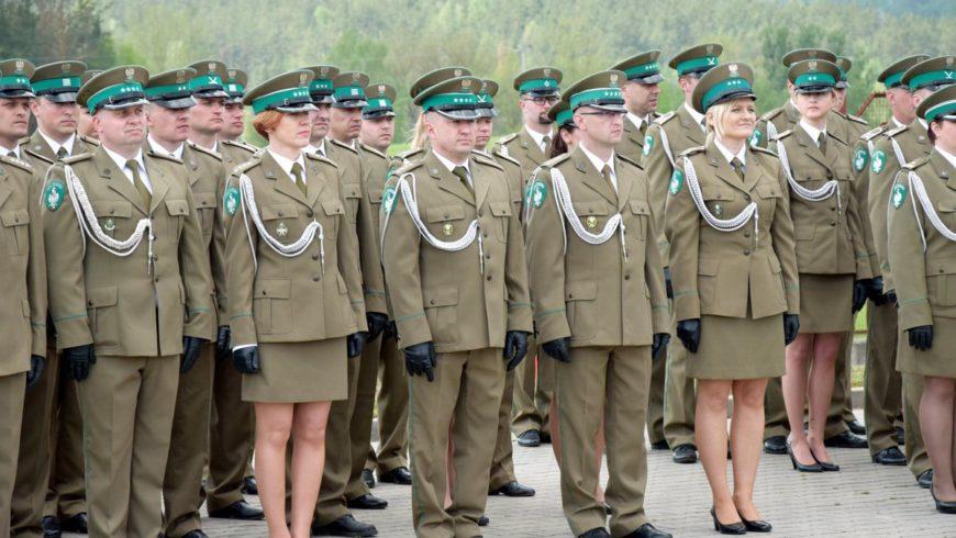Gmina Sokółka na jubileuszu Straży Granicznej w Kuźnicy Białostockiej