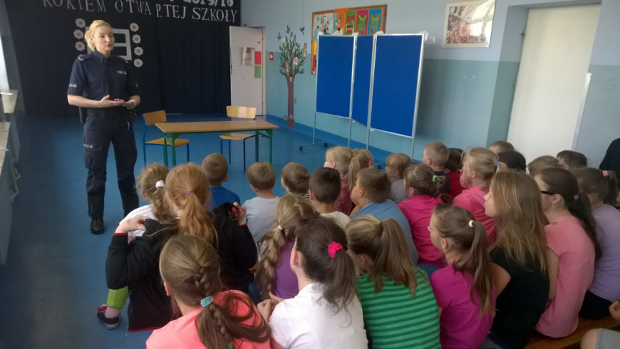 Spotkanie z uczniami Szkoły Podstawowej w Czerwonce