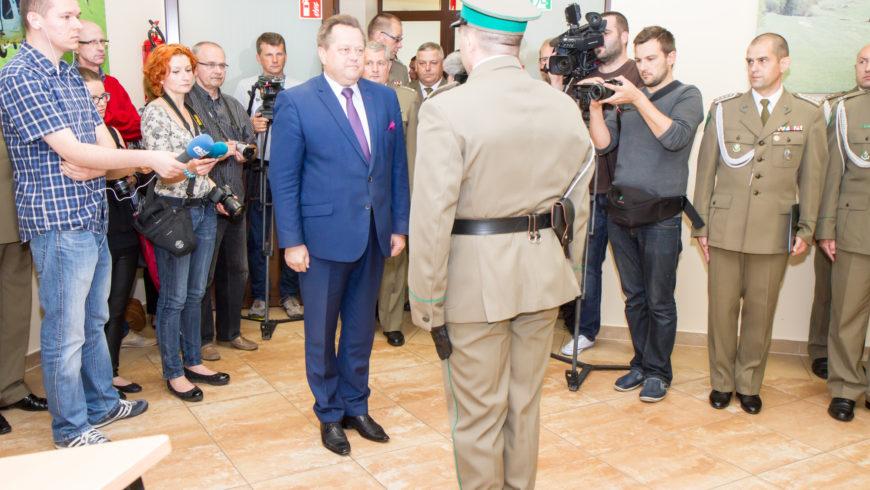 Nowy Komendant Podlaskiego Oddziału Straży Granicznej