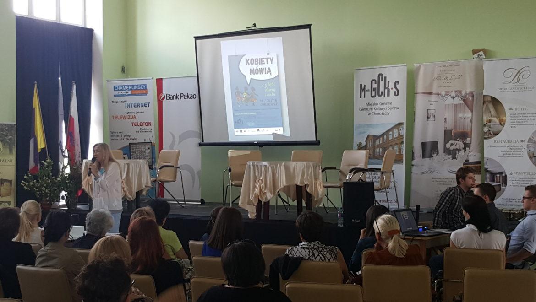 """""""Kobiety mówią"""", czyli panie miały swój dzień w Centrum Kultury w Choroszczy"""