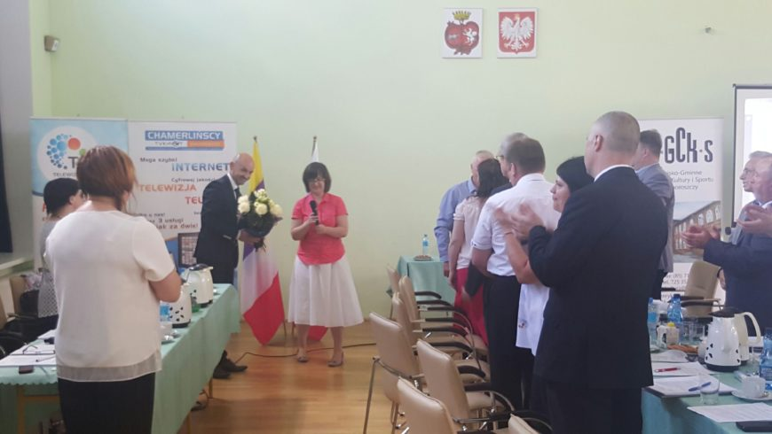 Burmistrz Choroszczy Robert Wardziński uzyskał absolutorium