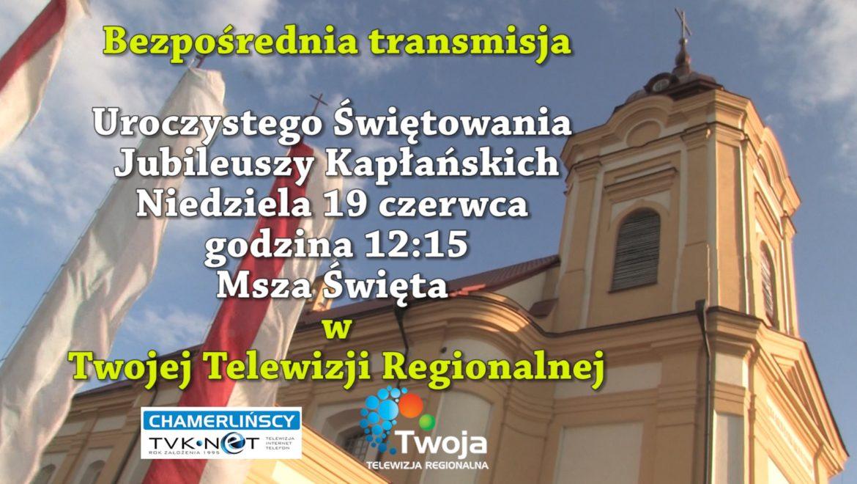 Jubileusz kapłaństwa w choroszczańskiej parafii – NA ŻYWO