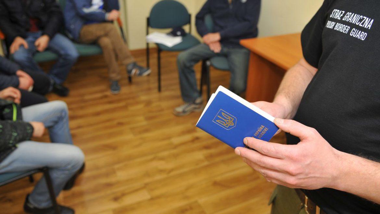 Obywatele Ukrainy zatrzymani