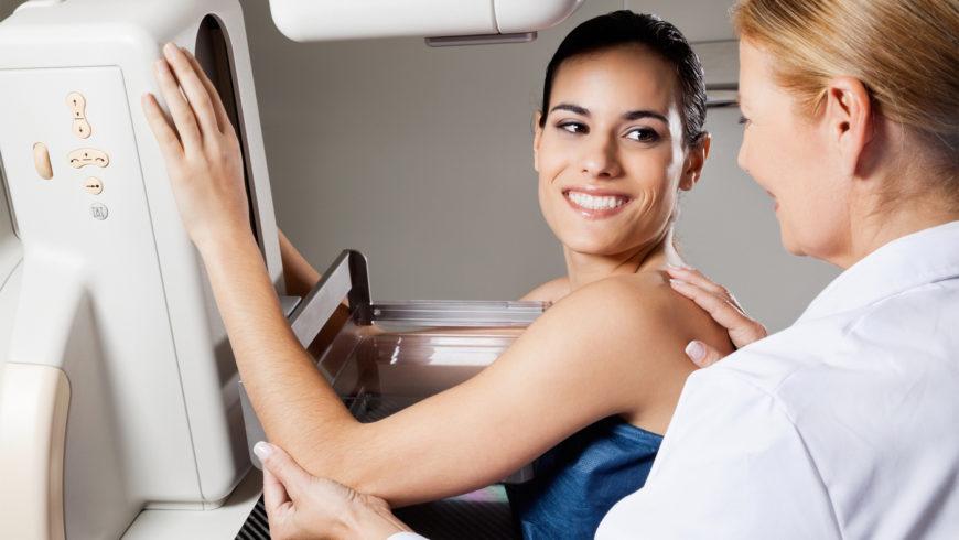 Bezpłatna mammografia dla pań w wieku 50–69 lat