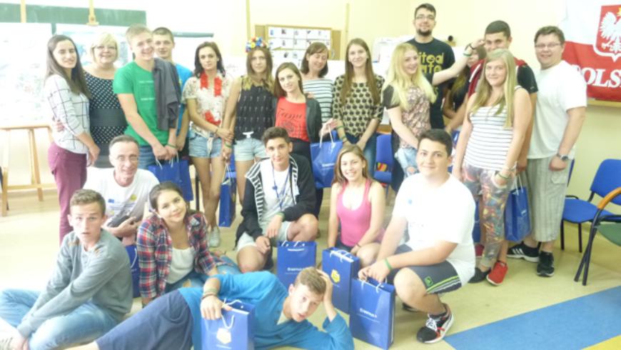 Międzynarodowa wymiana młodzieży w Wasilkowie
