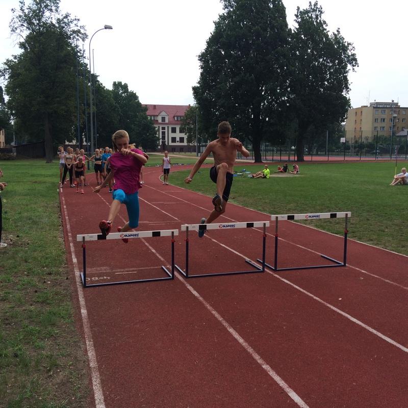 Sokólskie Centrum Sportu i Rozrywki na obozie sportowym w Augustowie
