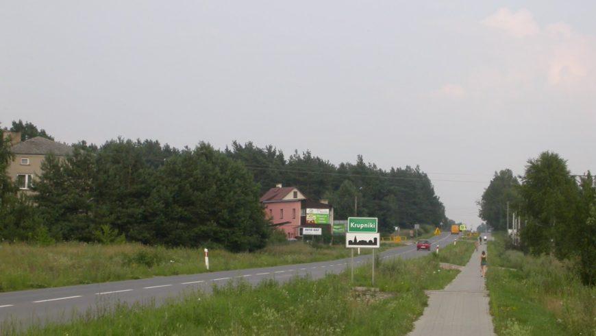 Wyłożenie projektu zmiany MPZP dla części wsi Krupniki