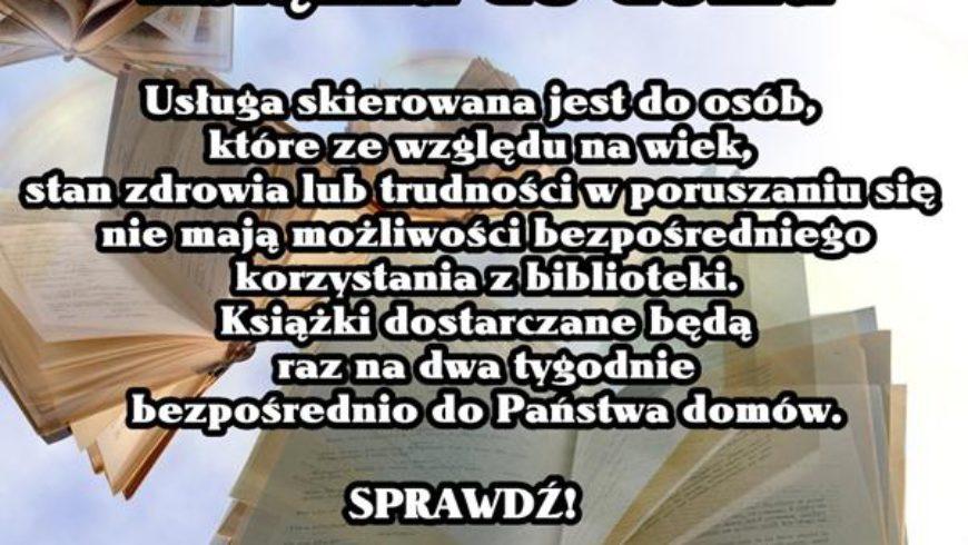 """""""Książka do domu"""" w Bibliotece w Wasilokowie"""