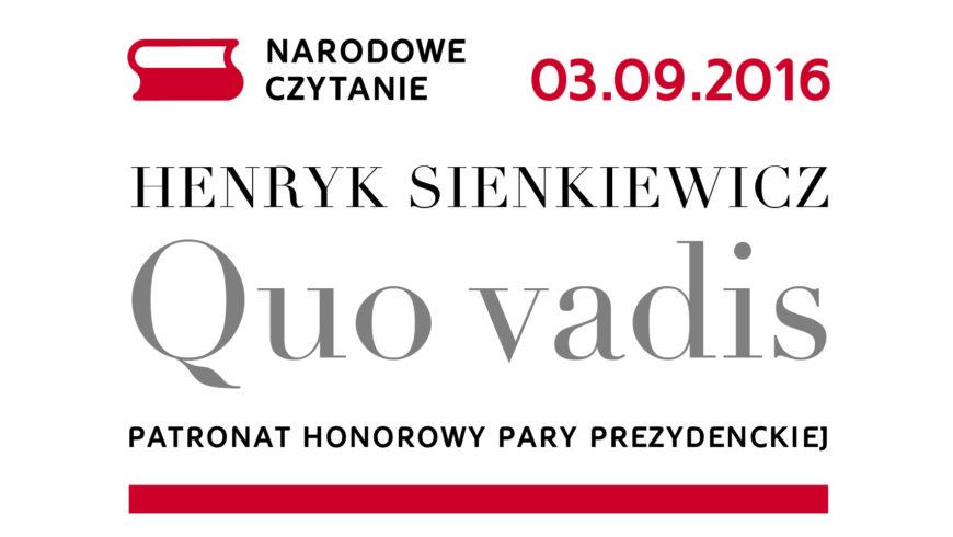 Już wkrótce cała Polska weźmie udział w Narodowym Czytaniu