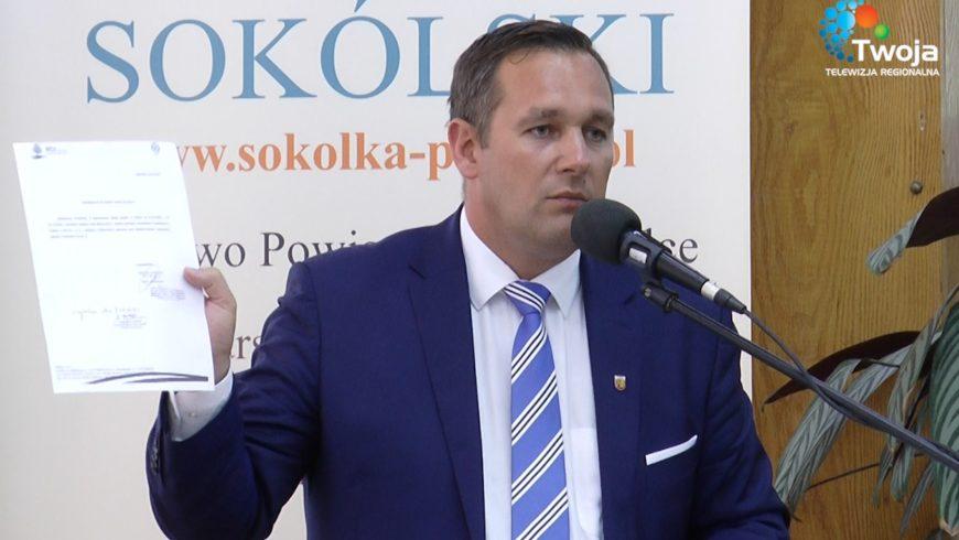 Retransmisja z XXIII sesji Rady Powiatu Sokólskiego w TTR!