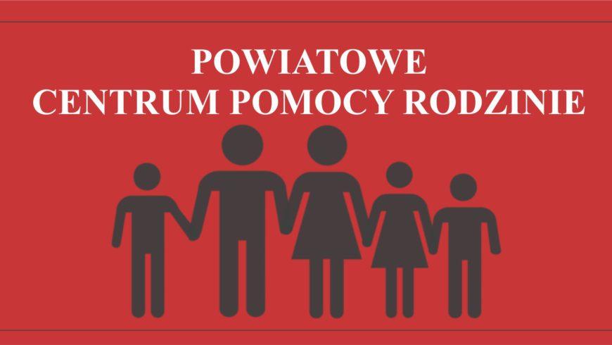 Ogłoszenie Powiatowego Centrum Pomocy Rodzinie w Sokółce
