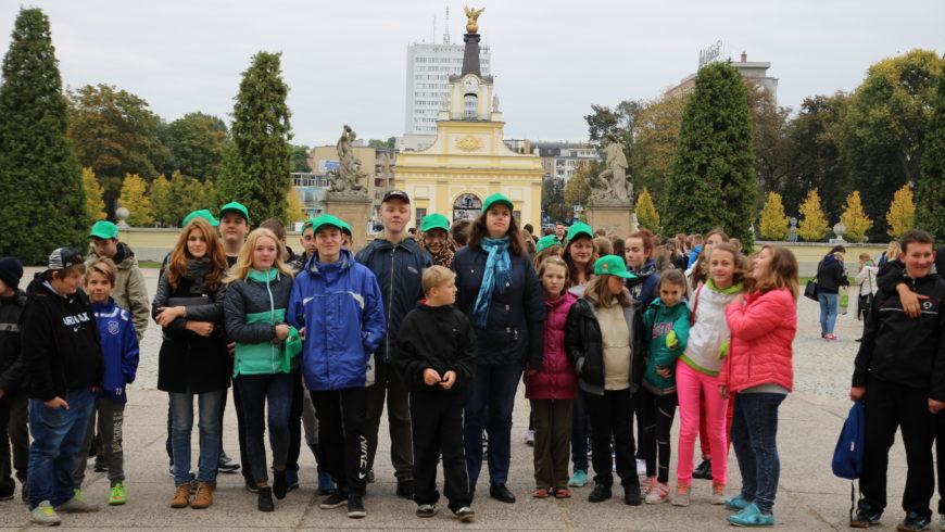 Wizyta uczniów z Mołodeczna