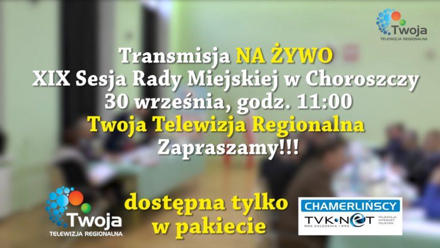 Już dziś XIX sesja Rady Miejskiej w Choroszczy.