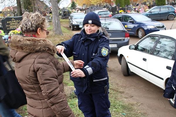Akcja Znicz 2016 na terenie Powiatu Sokólskiego