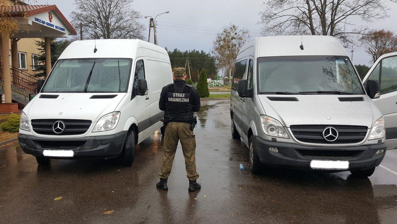 Trzy kradzione Sprintery