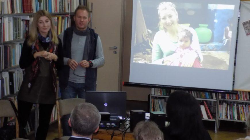 Spotkanie z podróżnikami w Bibliotece w Sokółce