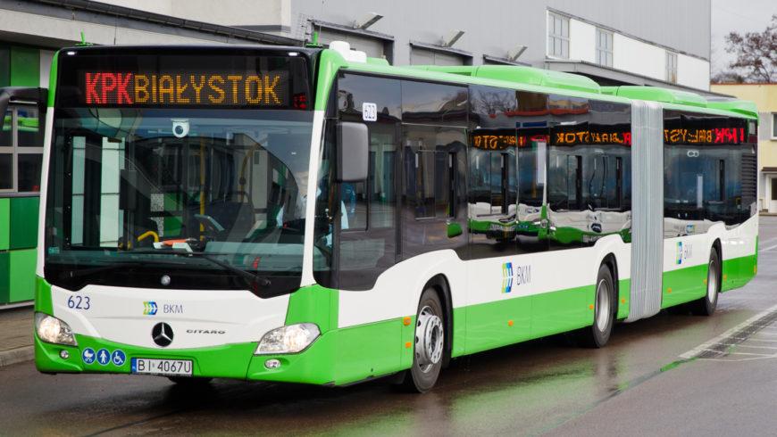 Kursy autobusów BKM 1 listopada