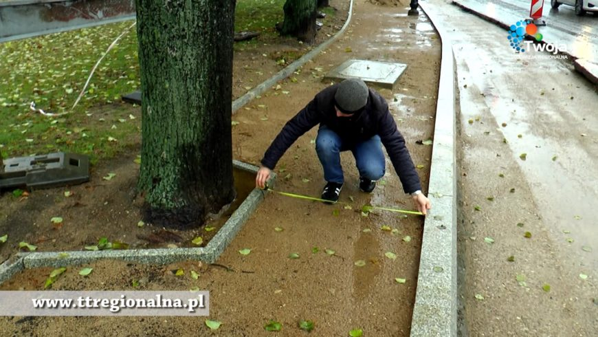 Sokółka będzie miała nową drogę. I drzewo. Rosnące w chodniku. ( VIDEO )