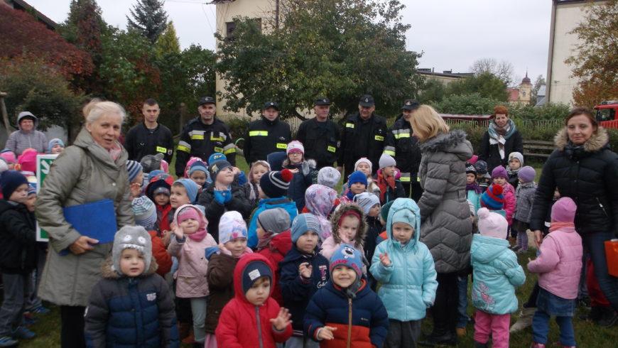 Ćwiczenia z ewakuacji w Przedszkolu Samorządowym w Choroszczy