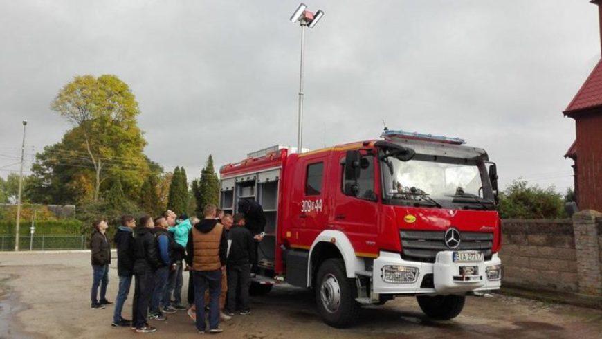 Nowy pojazd pożarniczy w OSP Złotoria