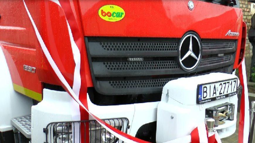 OSP Złotoria ma nowy wóz strażacki