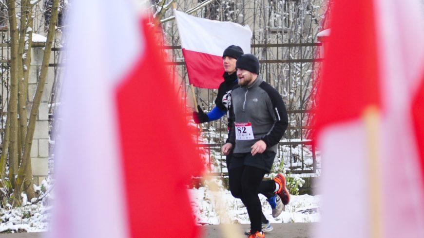 Choroszcz biegła w 98. rocznicę odzyskania przez Polskę niepodległości