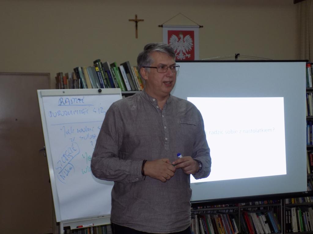 Artur Brzeziński w Bibliotece w Sokółce