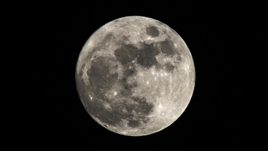 Pełnia księżyca nad Choroszczą