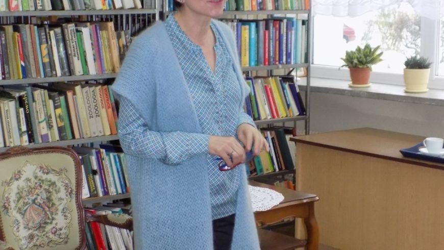 Dr hab. Anna Janicka w Bibliotece Publicznej w Sokółce