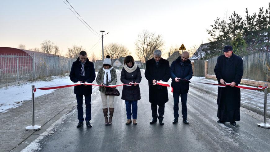 Droga w Żółtkach w gm. Choroszcz – gotowa i uroczyście otwarta!