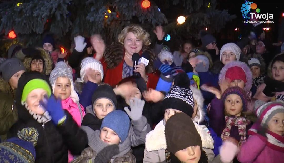Świąteczne życzenia burmistrz Sokółki Ewy Kulikowskiej [VIDEO]