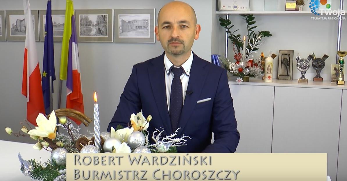 Świąteczne życzenia burmistrza Choroszczy [VIDEO]