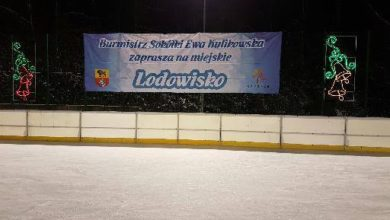 Mikołajki na lodowisku w Sokółce