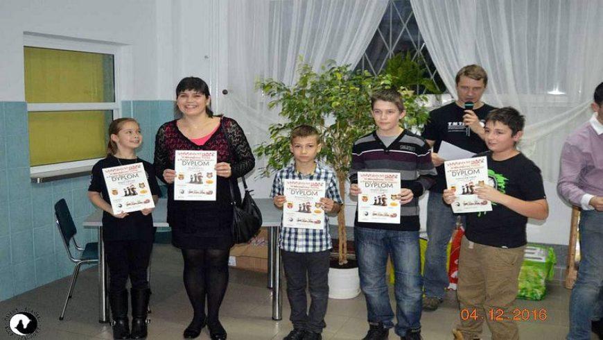 Mikołajkowy Turniej Szachowy o puchar Burmistrza Sokółki