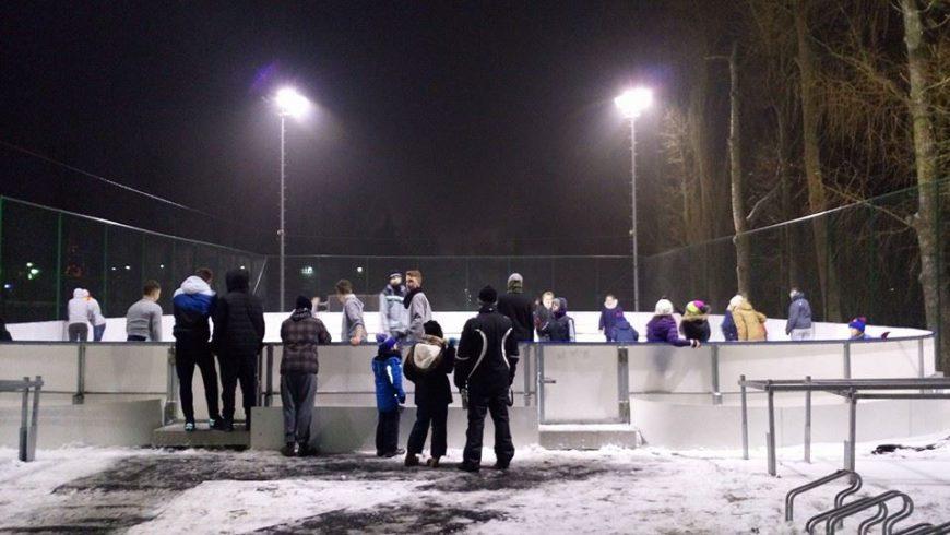 Zapraszamy na lodowisko w Choroszczy