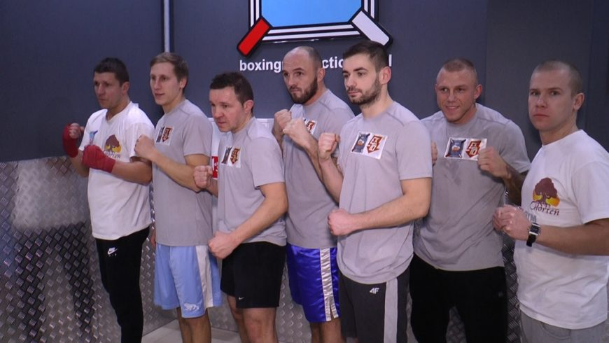 Bokserzy z Ekto Boxing Production na treningu [VIDEO]