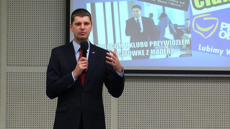 Wystąpienie Dariusza Piontkowskiego do zobaczenia w TTR