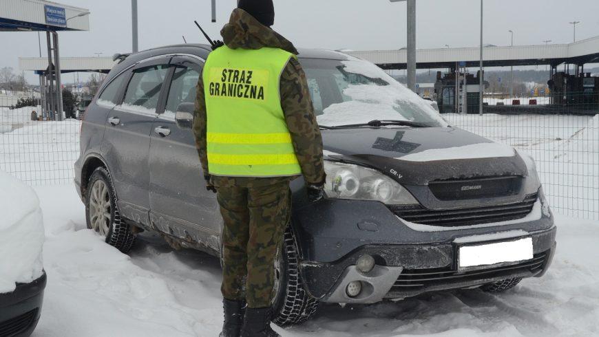 Odzyskano auto za 48 tys. zł.