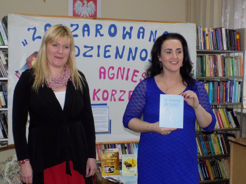 Autorka książek odwiedziła Bibliotekę w Sokółce