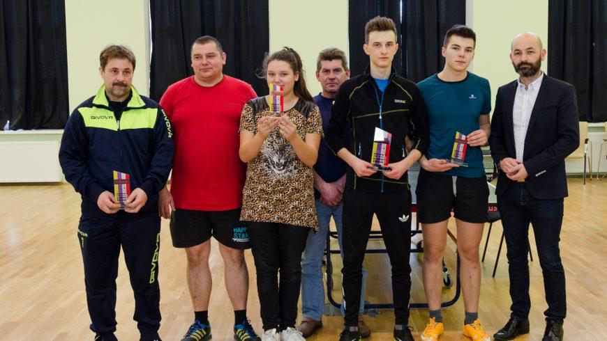 Krzysztof Miastkowski Mistrzem Gminy w Tenisie Stołowym!