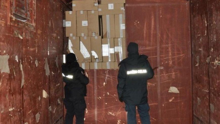 Kontrabanda za 2 miliony złotych w wagonie kolejowym ( FOTO )