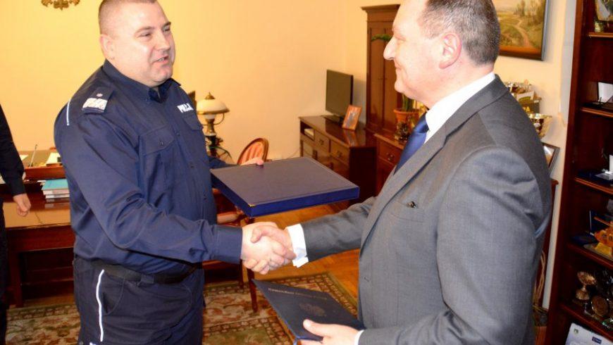 Podinspektor Andrzej Baranowski zakończył służbę w Policji