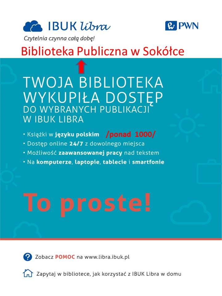 Nowe e-booki dostępne w Bibliotece w Sokółce!