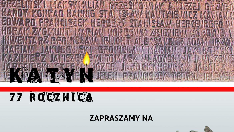 """Zbrodnia Katyńska – spotkanie na """"Przystanku Historia"""""""