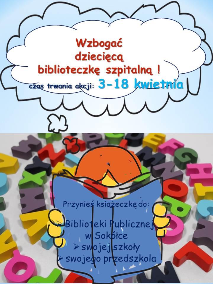 Niebawem w Sokółce rusza zbiórka książek dla dzieci